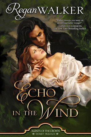 Cover image for Echo in the Wind by Regan Walker.