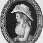 Minature of Maria Edgeworth by Adam Buck c1790