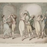 1806 Thomas Rowlandson's image of the waltz