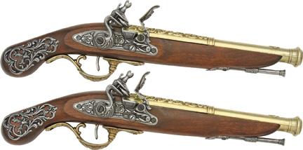 Regency Duelling Pistols