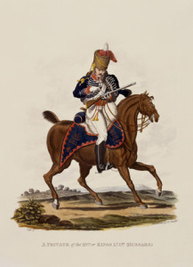15th Regiment King Hussar 1812