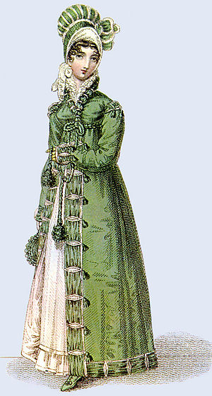 1817 walking costume