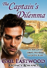 Cover for The Captain's Dilemma by Gail Eastwood