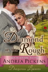 Cover for A Diamond In The Rough by Andrea Pickens