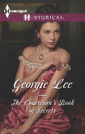 Cover for The Courtesan's Book of Secrets by Georgie Lee