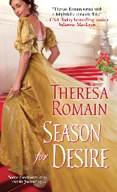 Cover for Season for Desire by Theresa Romain