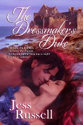 Cover for The Dressmaker's Duke by Jess Russell