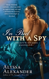 Cover for In Bed With A Spy by Alyssa Alexander
