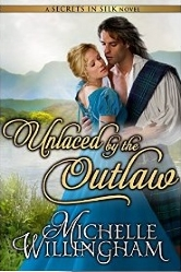 Cover for Unlaced by the Outlaw by Michelle Willingham