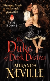 Cover for The Duke of Dark Desires by Miranda Neville
