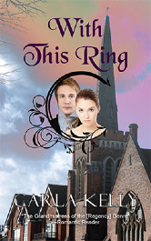Cover for With This Ring by Carla Kelly