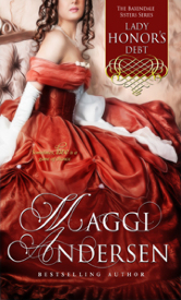 Cover image for Lady Honor's Debt by Maggi Andersen