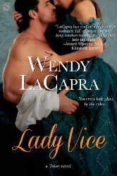 Cover image for LADY VICE by Wendy LaCapra